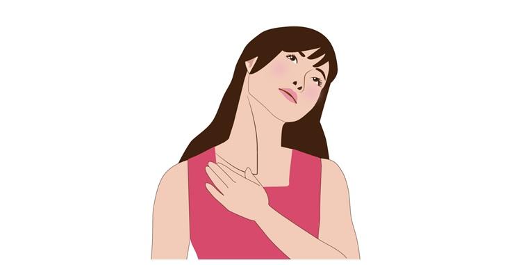 広頚筋と胸鎖乳突筋のストレッチ