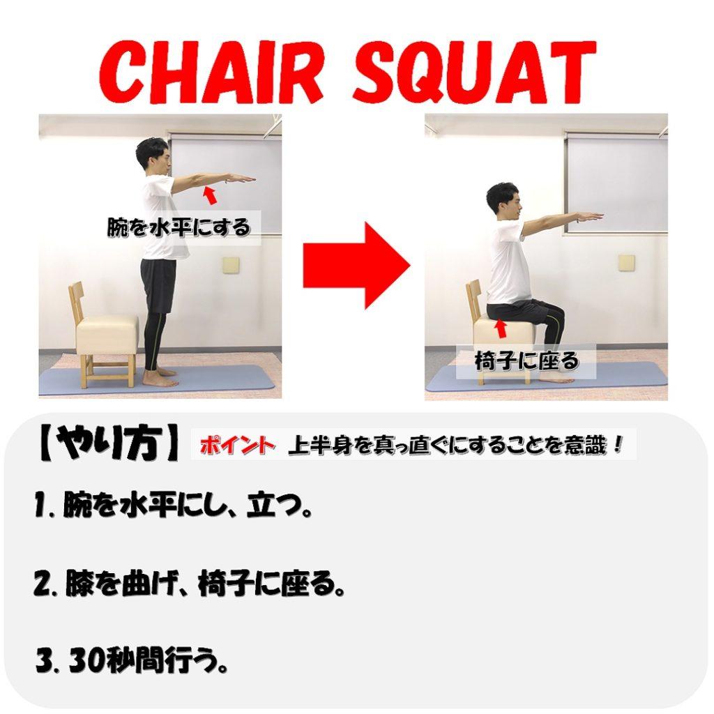 chairsquatやり方