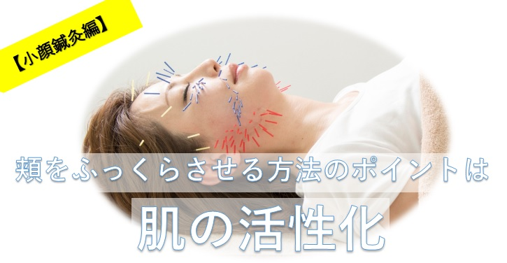 肌をふっくらさせる方法を説明したブログの画像