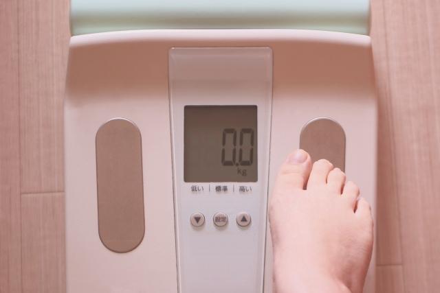 体重と体重計