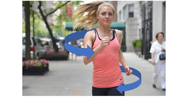 相関性歩行のモデル