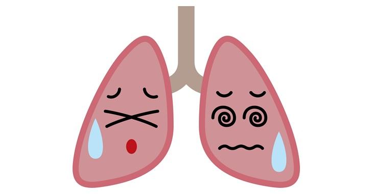 肺に息が入らない