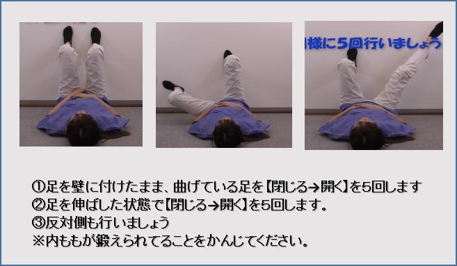 内転筋トレーニング