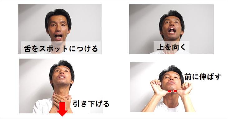 舌骨筋群の体操